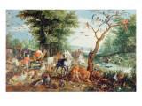 Noah's Ark Giclee Print by Jan Snellinck