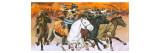 Mongol Horsemen Giclee Print by  Mcbride