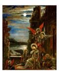 St. Cecilia Giclee Print by  Moreau