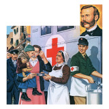 The Red Cross Giclee Print by John Keay