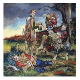Sir Philip Sidney Giclee Print by Ron Embleton