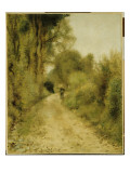 On the Path Giclee Print by Pierre-Auguste Renoir