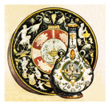 Majolica Giclee Print by English School