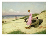 By the Sea Giclee Print by Povl Steffensen