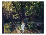 Gramercy Park Giclee Print by George Wesley Bellows