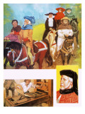 Canterbury Tales Giclee Print by  Mcbride