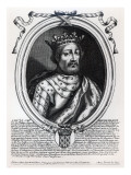 Louis Viii Giclee Print by Nicolas de Larmessin