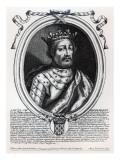Louis Viii Giclee Print by Nicolas de Larmessin