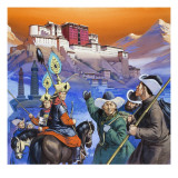 Tibet Giclee Print by Mcbride 