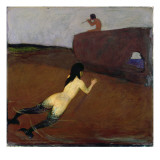 Belanschung Giclee Print by Franz von Stuck