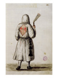 A Flagellant Reproduction proc&#233;d&#233; gicl&#233;e par Jan van Grevenbroeck