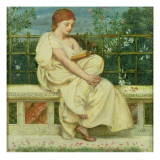 Reading Giclee Print by Edward John Poynter
