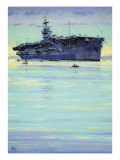 Hms Emperor Giclee Print by John S. Smith