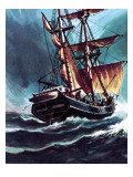 The Seafarer Giclee Print by Wilf Hardy