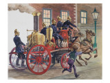 Fire Engine Giclee Print by Peter Jackson