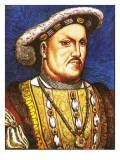 King Henry Viii Giclee Print by  English School