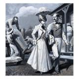 Panama Canal Giclee Print by Severino Baraldi