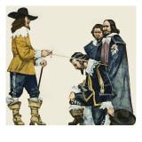 Charles I Giclee Print by Mcbride