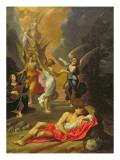 Jacob's Dream Giclée-tryk af Ludovico Carracci