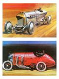 Blitzen Benz Giclee Print by Graham Coton