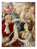 The Rivals Giclee Print by John Millar Watt