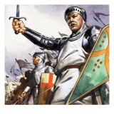 King Harold Giclee Print by English School