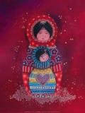 Au Coeur de Maman Kunst af Marie-pierre Emorine