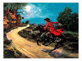 The Highwayman Giclee Print by Derek Charles Eyles