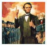 Abraham Lincoln Giclee Print by  English School