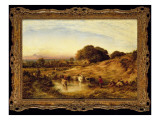 Sunset, 1860 Giclee Print by John Linnell
