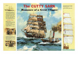 The Cutty Sark Giclee Print by  English School