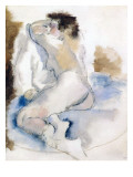 Germaine, 1929 Giclee Print by  Pascin