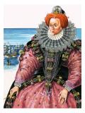 Queen Elizabeth I Giclee Print by  Escott