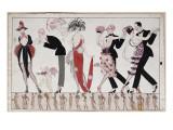 The Tango Giclée-Premiumdruck von Georges Barbier