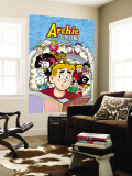 Archie Comics Cover: Archie &amp; Friends 137 A Night At The Comic Shop Wall Mural by Fernando Ruiz