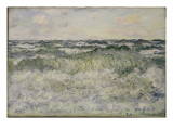 Seascape, 1881 Giclee Print by Claude Monet