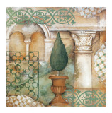 An Italian Garden Print by Patrizia Moro