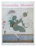 Jean Borlin Giclee Print by Gerda Marie Frederike Wegener
