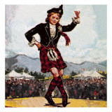 Kilt Giclee Print by  McConnell
