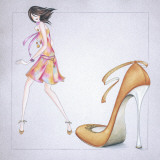 New Fashion II Prints by E. Serine