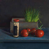 Still Live with Tomato Posters par  Van Riswick