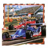 Grand Prix Racing Giclée-Druck von Wilf Hardy