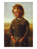 Fisher Girl, 1874 Reproduction procédé giclée par Ilya Efimovich Repin