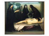 The Sin Giclee Print by Julio Romero de Torres