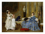 Dressing Up Giclee Print by Joseph Caraud
