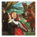 Margaret of Anjou Giclee Print by Clive Uptton