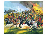 Hordes of Huns Giclee Print by Ron Embleton