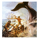 Peter the Whaler Reproduction procédé giclée par McConnell