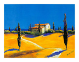 Summer in Provence II Print by B. Arroldi