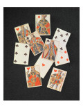 Playing Cards Giclee Print by Matthias Backofen